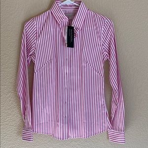 Banana Republic Non-iron Fitted Collared Shirt